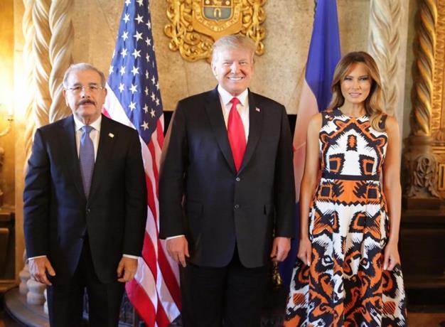 Danilo Medina ante Donald Trump