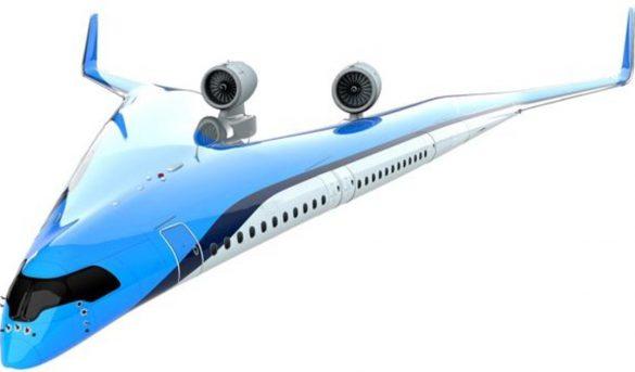 Así será el avión donde los pasajeros viajarán en las alas
