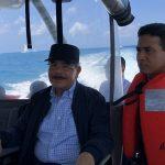 Medina prioriza turismo en visita sorpresa: recorre atractivos de isla Saona y Bayahíbe