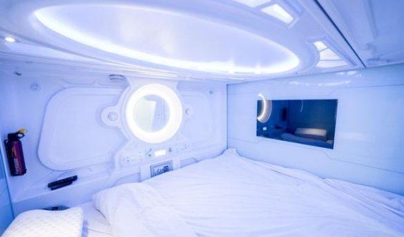 Hoteles cápsula: el invento japonés llega a España
