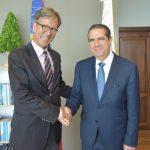 Ministro de Turismo trata temas del sector con embajador alemán en el país