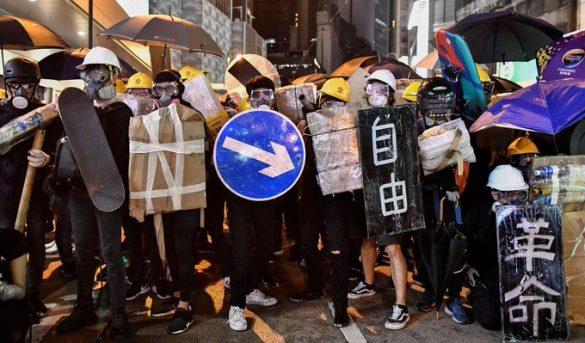 Las protestas en Hong Kong provocan la caída del turismo
