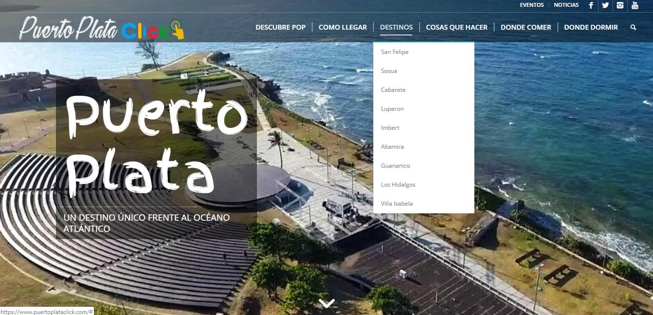 Puerto Plata Click nueva web de promoción para el destino