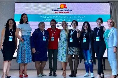 """Min. de Turismo concluye con éxito """"Dominican Republic Road Show 2019″ en Rusia y Bielorrusia"""