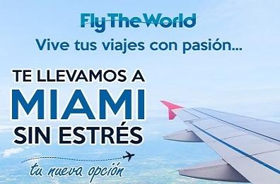 Touroperador Fly The World anuncia vuelos, Venezuela -Miami, conexión, Puerto Plata y Santo Domingo