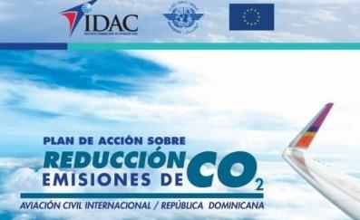 Plan del IDAC RD para reducir emisiones CO2 provenientes de la aviación civil