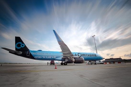 El avión 'solo business' que vuela entre América y Europa