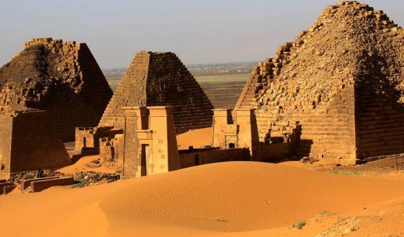 Sudán tiene más pirámides que Egipto, pero casi nadie las conoce