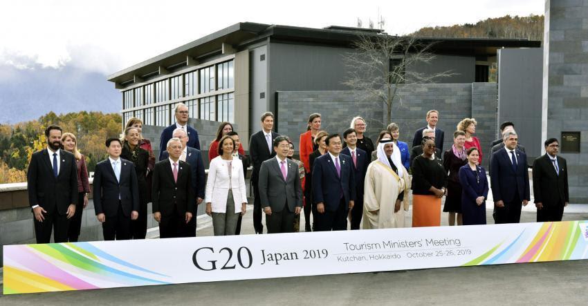 En Japón, Grupo de países G20 anuncia luchará contra aculturación turística
