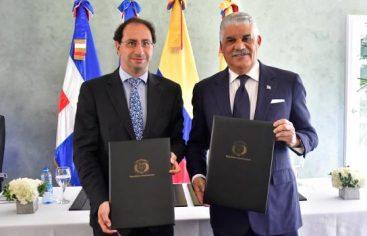 Colombia y República Dominicana firman memorándum de entendimiento