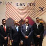Autoridades dominicanas firman varios acuerdos aéreos en ICAN 2019