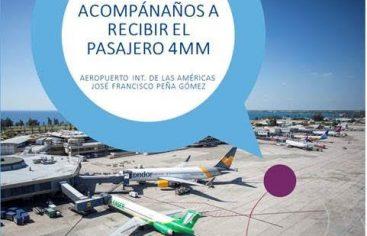 Aerodom se prepara para recibir al pasajero 4 millones del Aeropuerto Intl. de Las Américas en el 2019