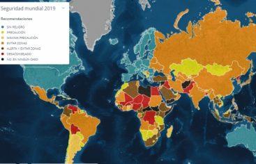 Ranking países latinos peligroso para viajar, Bolivia en Primer lugar