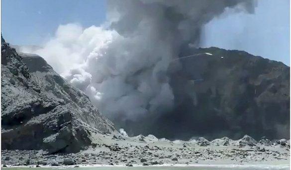 Tragedia turística al estallar un volcán dormido en Nueva Zelanda
