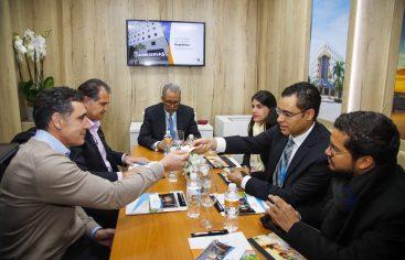 Delegación de Banreservas inicia intensa agenda de trabajo en Fitur