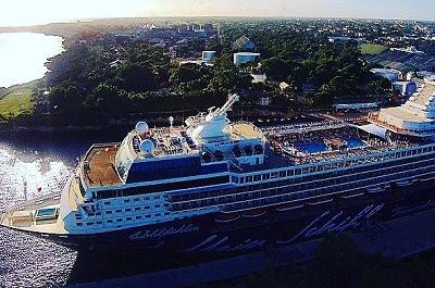 Esta semana llega a los puertos turísticos de R.D., 7 barcos cruceros con 31 mil visitantes