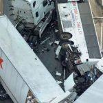 Accidente de bus turístico en autopista de EE.UU. deja un balance de cinco muertos