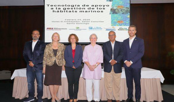 RD, primero en el Caribe que utiliza tecnología para mapas de hábitats marinos costeros