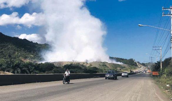 Falla geológica impide avance carretera turística Navarrete-Puerto Plata