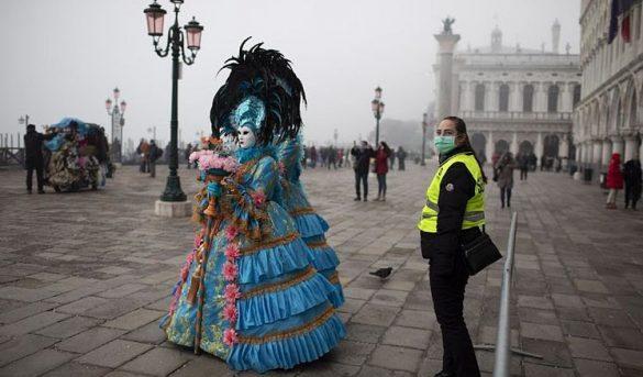 Venecia cancela el Carnaval tras detectar dos casos de coronavirus