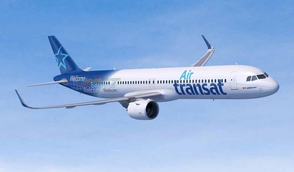 El Coronavirus obliga a Air Transat suspender 47 vuelos semanales a Rep. Dom.