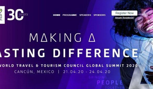 Confirman cumbre de líderes mundiales de turismo, en Cancún