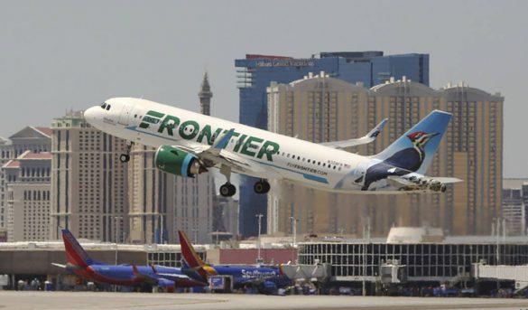 Frontier inaugura vuelo a Santo Domingo y Santiago desde Newark