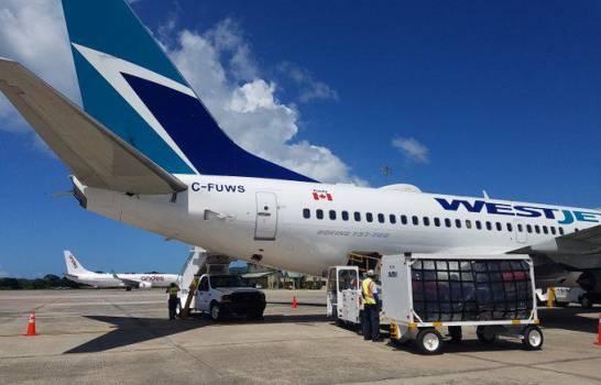 El tránsito de pasajeros vía aérea al país cae un 47.5 % en marzo