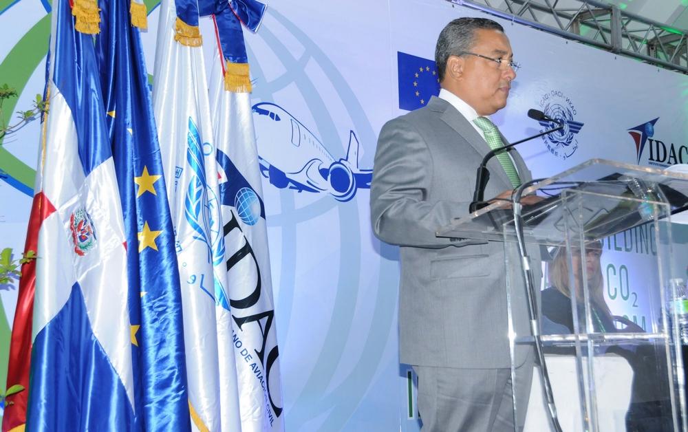 Alejandro Herrara, Director IDAC apoya acuerdo  pre chequeo en Punta Cana