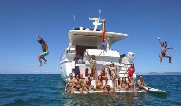 El turismo náutico es turismo activo