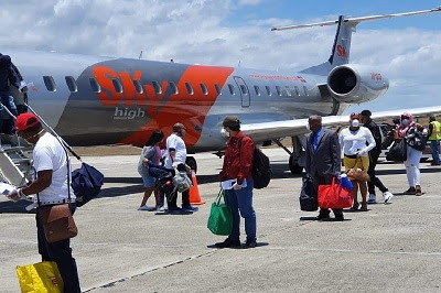 Sky High Aviation realiza transporte de insumos contra la Covid-19 y  repatriación de dominicanos