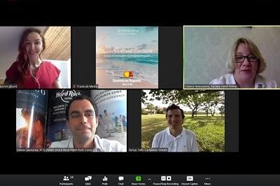 "OPT de Asia Central MITUR realizó reuniones online ""Dominicana Hoy""con representantes del sector"