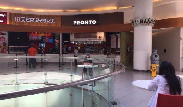 Los 25 restaurantes de Ágora Mall proyectan reabrir sus puertas el 1 de julio