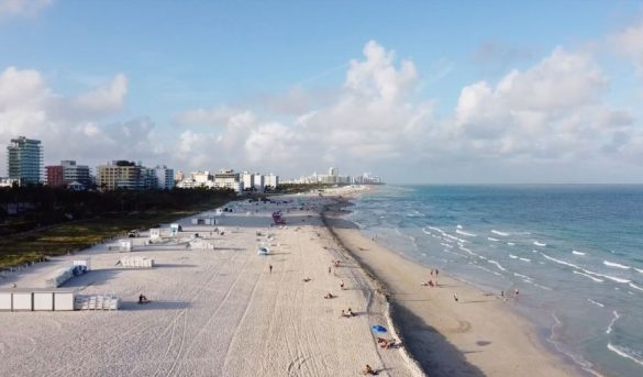 Vuelven a cerrar playas de Miami por el covid-19; la medida coincide con el fin de semana del 4 de julio