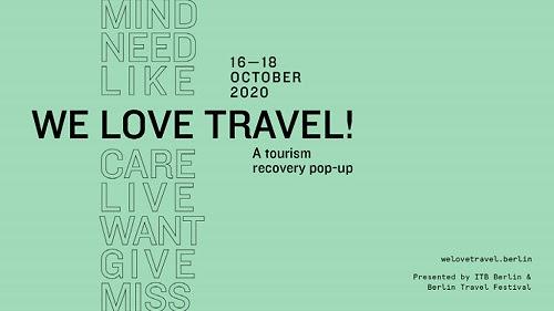 ITB Berlín regresará en nuevo formato junto a Berlín Travel Festival del 16 al 18 de octubre del 2020
