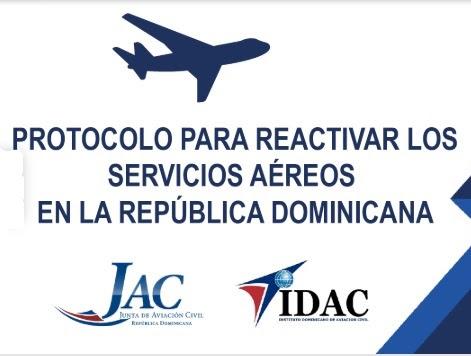 JAC e IDAC autorizan protocolos para servicios aéreos e informan el reinicio de vuelos el 01 de julio