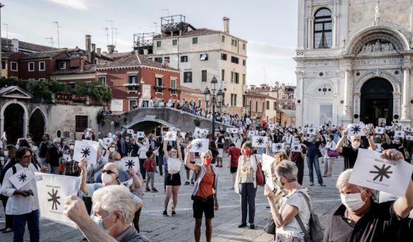 VENECIA - Para variar, fueron los venecianos los que abarrotaron la plaza