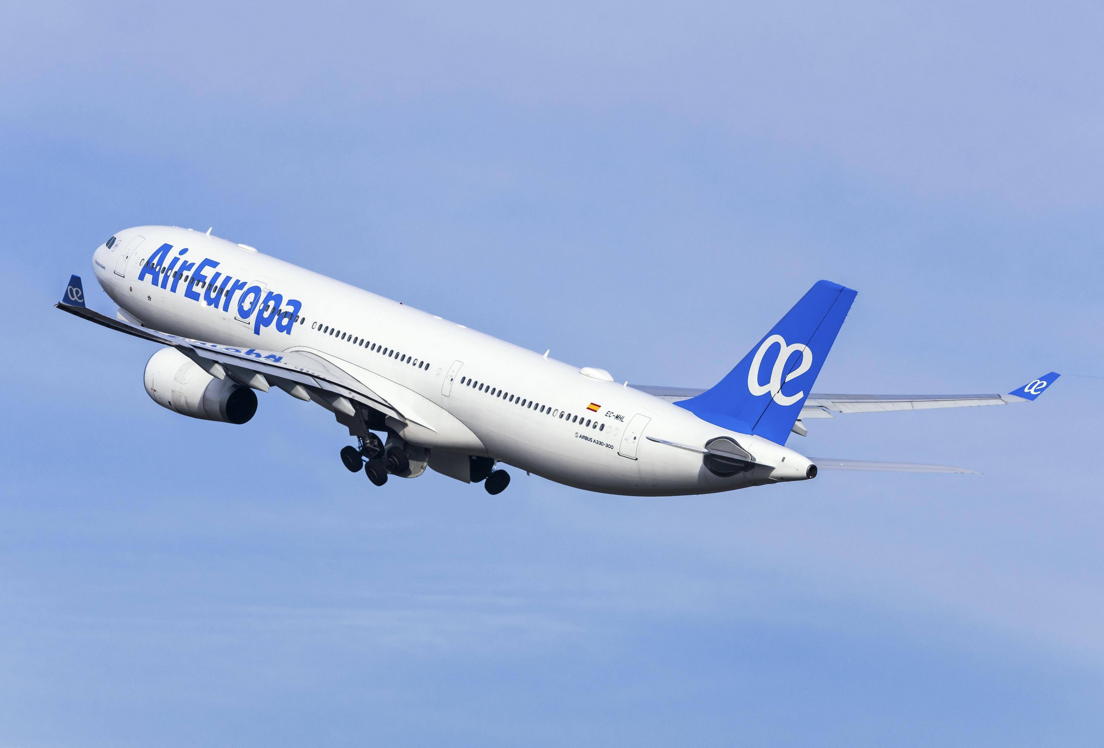 Air Europa programa reinicio de vuelos a Santo Domingo y Punta Cana con incrementos progresivos de frecuencias