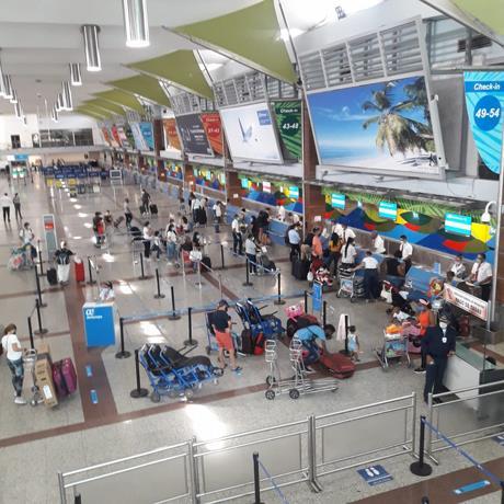 Aeropuertos manejados por Aerodom atienden más de 15 mil pasajeros en seis días