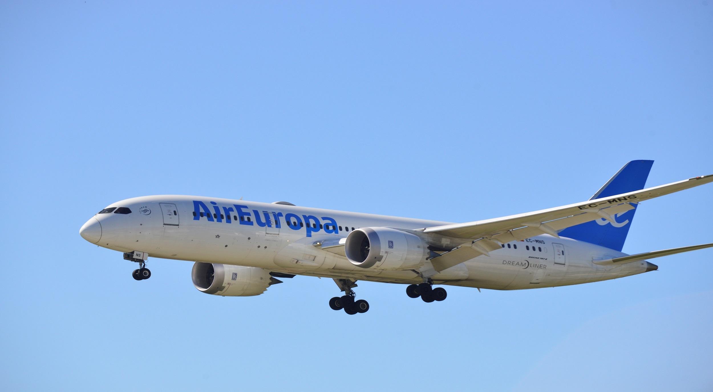 Air Europa centra sus operaciones en el AILA y deja a Punta Cana