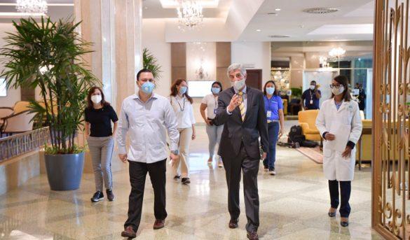 RD supervisa protocolo sanitario en hoteles de sus principales polos