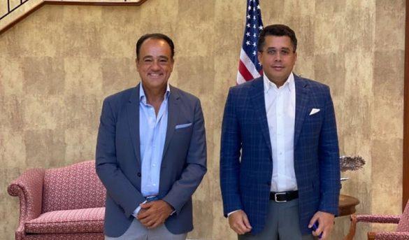 David Collado, futuro Ministro de Turismo RD se reúne con mayor Turoperador USA, Apple Leisure Group,
