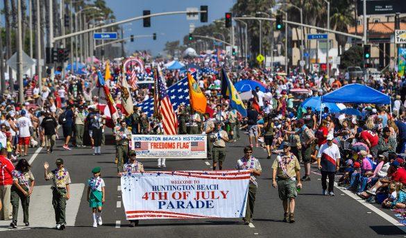 Un momento Especial para la fiesta nacional del 4 de julio en USA