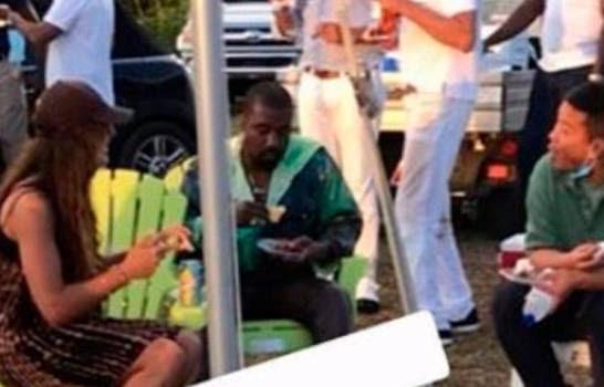 Kanye West y Kim Kardashian se pasean por Punta Cana