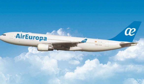 Air Europa mantiene vuelos a SD pese a cancelaciones en América