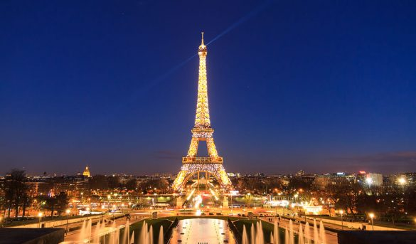 Paris la capital francesa perdió 14.3 millones de turistas entre enero y junio