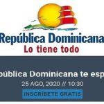 """Se inicia manana webinar """"República Dominicana Te Espera"""" a cargo del Mitur"""