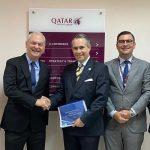 Qatar Airways aviva su plan de convertir a RD en su hub regional