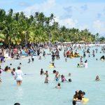 Boca Chica: Botando el estrés sin mascarillas