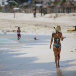El coronavirus vacía el Caribe mexicano